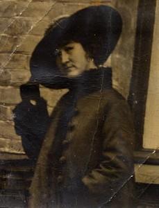 Berta Sophia Katharina Heuer, geb. Eilmann ca. 1919